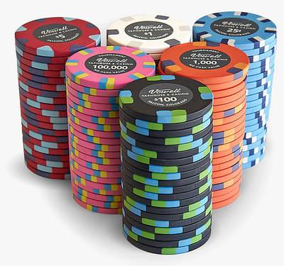 Покерные фишки поштучно