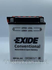 Мото аккумулятор EXIDE EB14L-A2