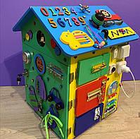 """Бизидом МЕГА, домик для развития ребенка 60×40×40 см """" Домик Великан"""" цветной, фото 5"""