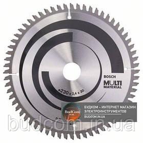 Пильный диск Bosch Multi Material 230×2,4×30, 64 HTLCG