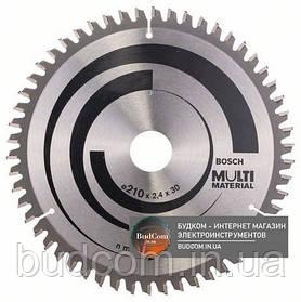 Диск Bosch Multi Material 210×2,4×30, 54 HTLCG