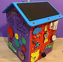 """Бизидом МЕГА, домик для развития ребенка 60×40×40 см """" Домик Великан"""" цветной, фото 4"""