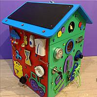 """Бизидом МЕГА, домик для развития ребенка 60×40×40 см """" Домик Великан"""" цветной, фото 3"""