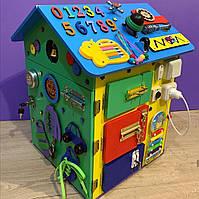 """Бизидом МЕГА, домик для развития ребенка 60×40×40 см """" Домик Великан"""" цветной, фото 2"""