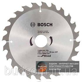 Пильный диск Bosch Eco for Wood 160x2,2x20-24T