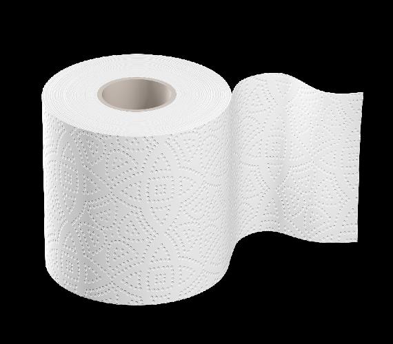 Туалетная бумага двухслойная 140 отрывов белая Марго ХОРЕКА 48 рулонов
