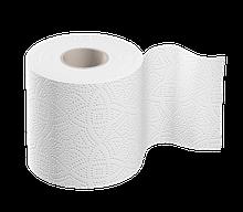Туалетний папір двошаровий 140 відривів білий Марго ХОРЕКА 48 рулонів