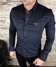 Рубашка Чол. 58(р) т.синій 1909 Prada Туреччина Осінь-B