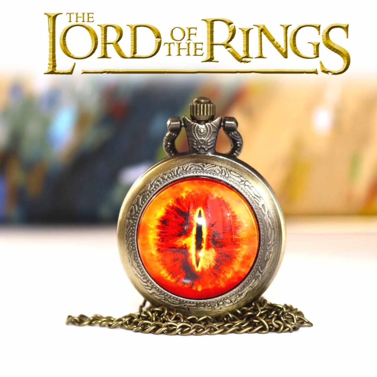Карманные часы Око Саурона Властелин колец / The Lord of the Rings
