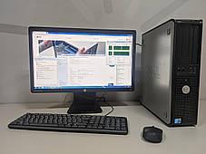 Системный блок ПК компьютер DELL 780 3.00ГГц/8Gb DDR3/250Gb/HD6450 1Gb минимально игровой WiFi в подарок, фото 2