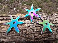Набор звездочек шестиконечных хамелион  метательных 3 шт