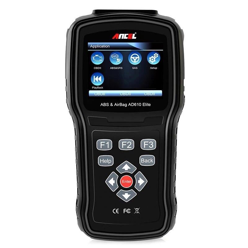 Автосканер диагностический профессиональный ANCEL AD610 Elite (OBD2/EOBD+CAN)