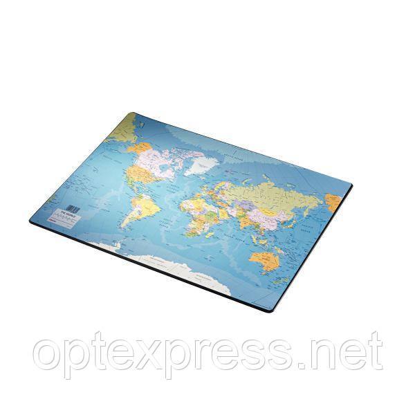 Настольное покрытие карта мира Esselte 40*53 см
