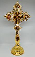 Хрест священика на підставці з камінням (Греція)