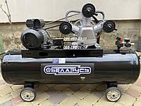 Компрессор воздушный ременной Беларусь 120-3 220 V 4500 Вт 850 л/мин, фото 1