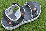 Спортивные детские сандалии аналог Nike найк серые р31-36, копия, фото 3