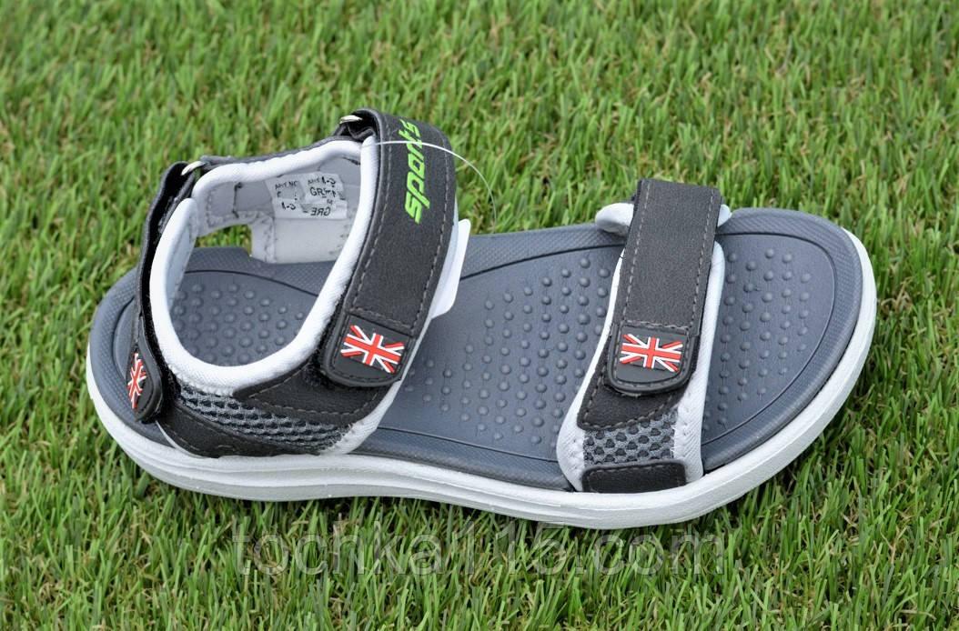 Спортивные детские сандалии аналог Nike найк серые р31-36, копия