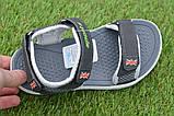 Спортивные детские сандалии аналог Nike найк серые р31-36, копия, фото 4