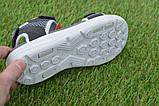 Спортивные детские сандалии аналог Nike найк серые р31-36, копия, фото 8