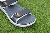 Спортивные детские сандалии аналог Nike найк серые р31-36, копия, фото 5