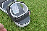 Спортивные детские сандалии аналог Nike найк серые р31-36, копия, фото 6