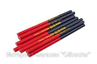 Карандаш Intertool - столярный 180 мм (12 шт.) красно-черный