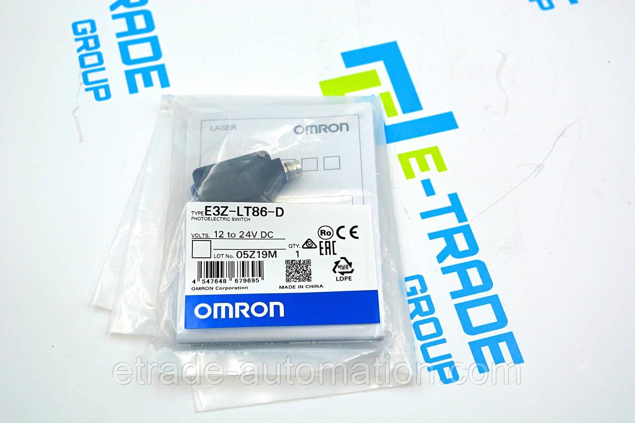 Датчик Omron E3Z-LT86-D
