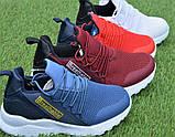 Детские модные кроссовки Adidas Blue адидас синий р31-36, копия, фото 3