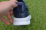 Детские модные кроссовки Adidas Blue адидас синий р31-36, копия, фото 4