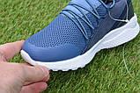 Детские модные кроссовки Adidas Blue адидас синий р31-36, копия, фото 7