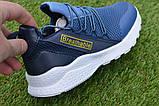 Детские модные кроссовки Adidas Blue адидас синий р31-36, копия, фото 8