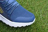 Детские модные кроссовки Adidas Blue адидас синий р31-36, копия, фото 10