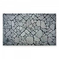 """Коврик в коридор """"Камень речной булыжник"""" на резиновой основе К-602-26 [541-03]"""