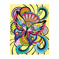 "Набор ""ROSA START"" техника акриловая живопись по номерам ""Бабочка"" N0001336"