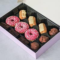 Эклеры и пончики