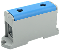 Клемма вводная силовая КВС 35-240мм2 синяя IEK