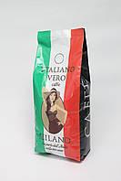Кофе в зернах Italiano Vero Milano 1 кг 50% Арабики  50% Робусты, фото 1