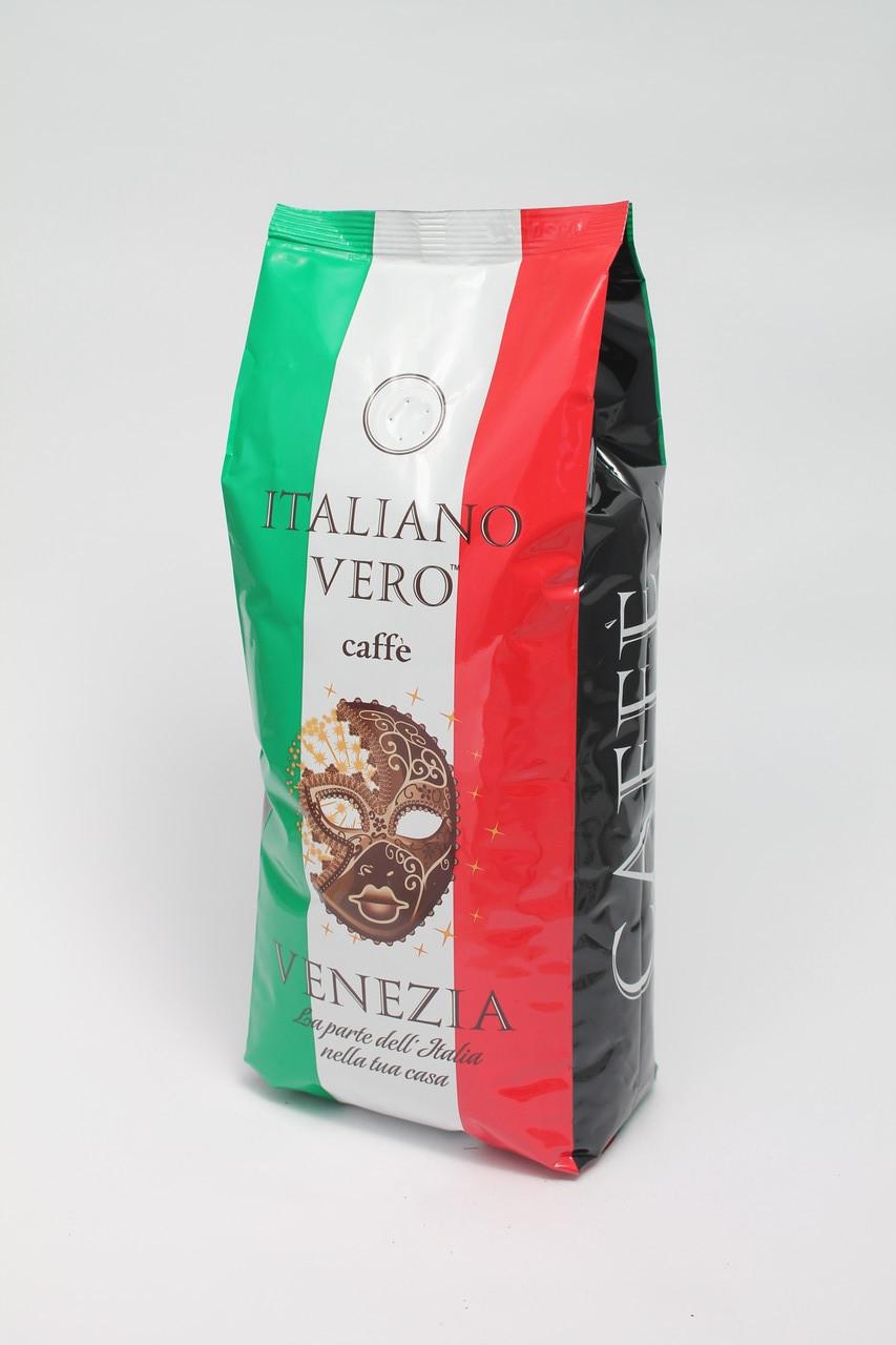 Кофе в зернах Italiano Vero Venezia 1 кг 100% Арабика