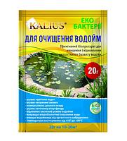 Биопрепарат для очистки водоемов / прудов KALIUS для очистки водоемов, 20г