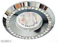 Потолочный светильник Feron  DL 103-c прозрачный хром MR16