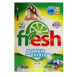 Порошок стиральный карт. уп. 400 гр ТМ Fresh ручная стирка Альпийский луг 20 шт. / Уп