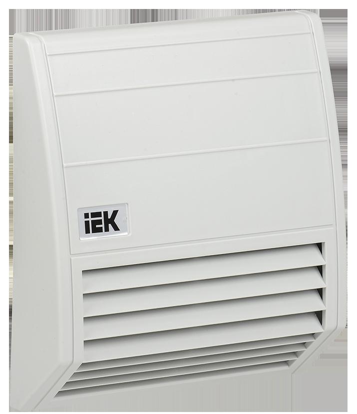 Фільтр із захисним кожухом 176х176мм для вентилятора 102 м3/год IEK
