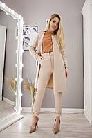 Женский костюм-двойка кардиган+брюки, фото 1