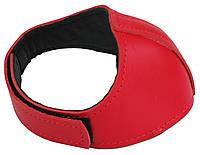 Автопятка кожаная для женской обуви красный 608835-12