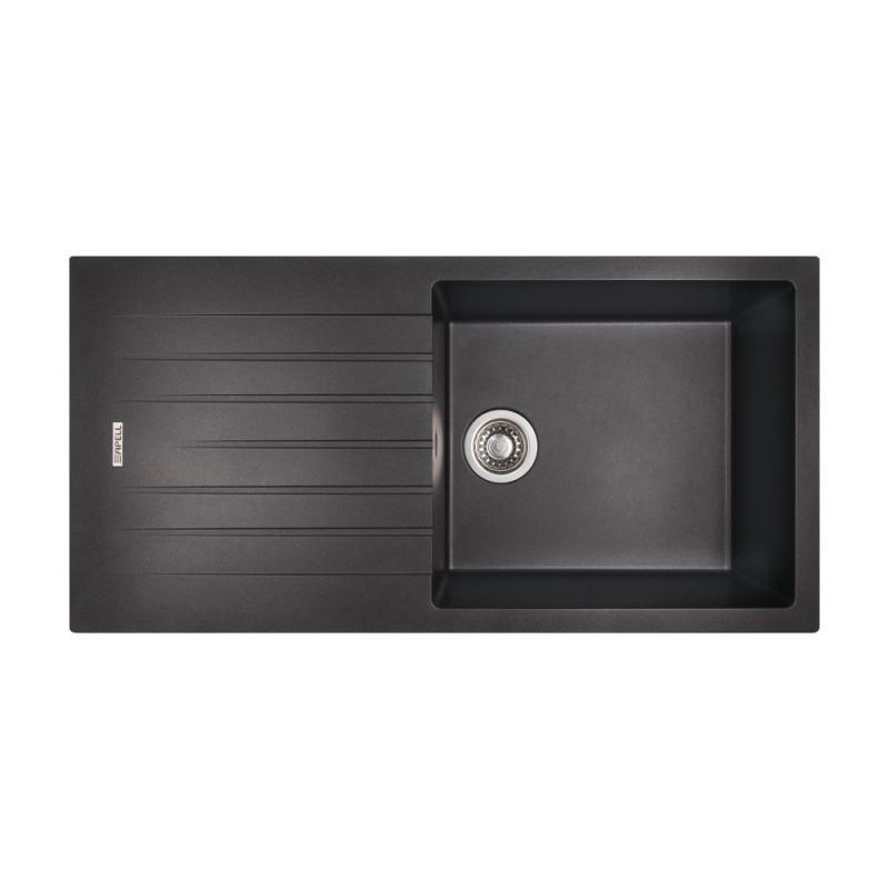 Кухонная мойка Apell Pietra Plus PTPL1001GB Black granit