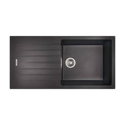 Кухонная мойка Apell Pietra Plus PTPL1001GB Black granit, фото 2