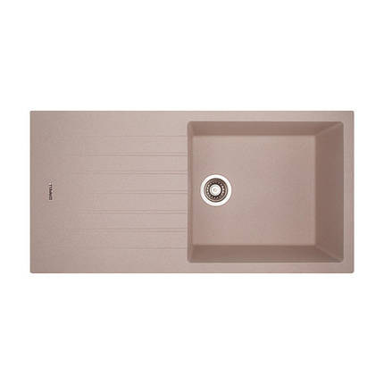 Кухонная мойка Apell Pietra Plus PTPL1001GO Oats granit, фото 2