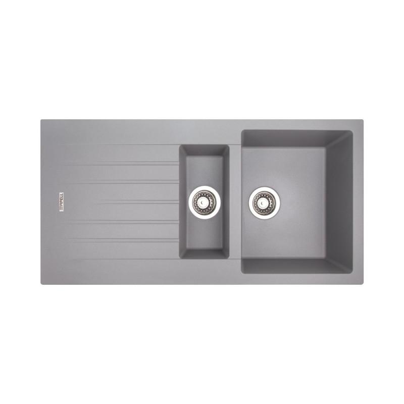 Кухонная мойка Apell Pietra Plus PTPL1002AL Alluminium