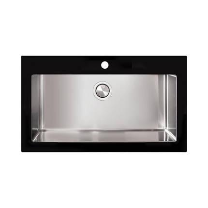 Кухонная мойка Apell Pura PUG861IBC Brushed, фото 2