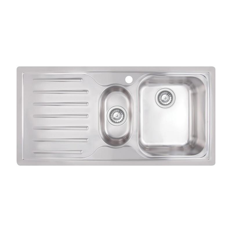 Кухонная мойка Apell Torino TO1002ILBC Brushed